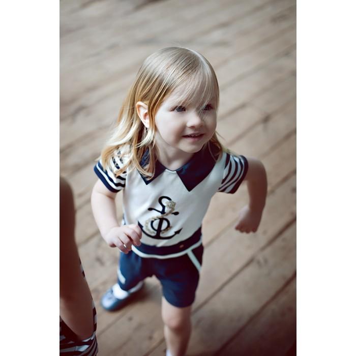 Детская одежда , Боди и песочники Lucky Child Песочник для девочки Лазурный берег 28-28Д арт: 296434 -  Боди и песочники