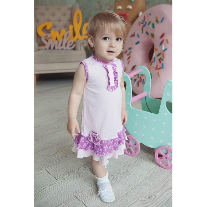 Детские платья и сарафаны Lucky Child Платье Цветочки 11-61к пижамы lucky child пижама