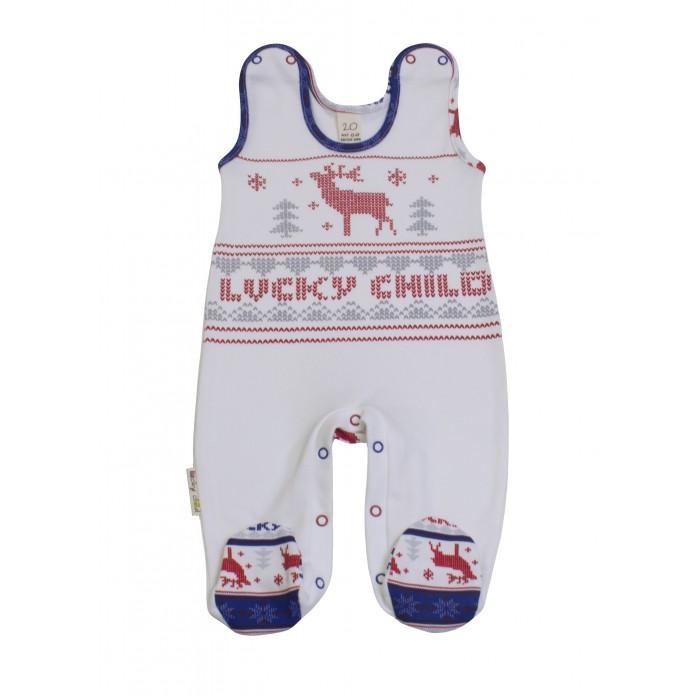 Комбинезоны и полукомбинезоны Lucky Child Ползунки Скандинавия 10-2 пижамы lucky child пижама