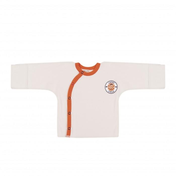 Распашонки и кофточки Lucky Child Распашонка Умка 32-7 одежда для новорождённых