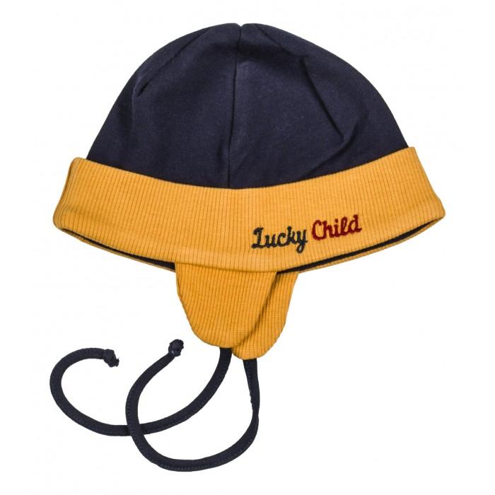 Шапочки и чепчики Lucky Child Шапочка Мужички 27-91 пижамы lucky child пижама