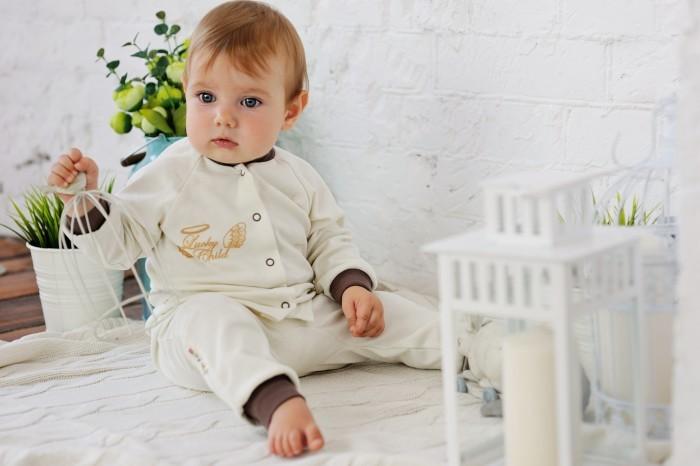 lucky child шапочка ангелочки белая на завязках Штанишки и шорты Lucky Child Штанишки детские Ангелочки