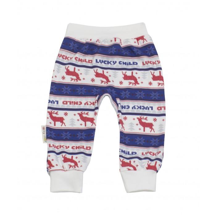 Фото Брюки, джинсы и штанишки Lucky Child Штанишки футер Скандинавия
