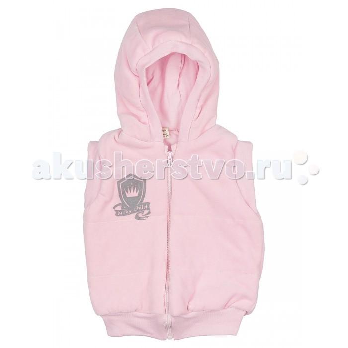 Детская одежда , Пиджаки, жакеты, жилетки Lucky Child Жилетка из велюра арт: 205275 -  Пиджаки, жакеты, жилетки