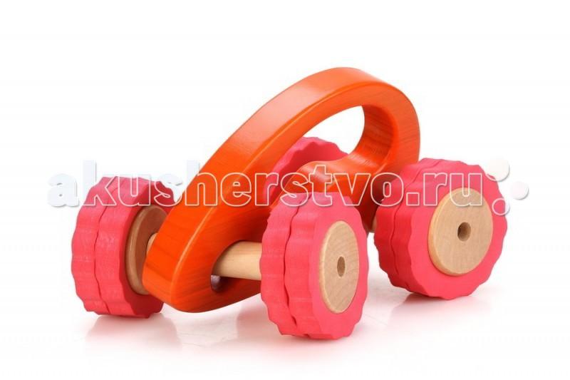 Деревянные игрушки Lucy & Leo Машина Роли-Поли LL105