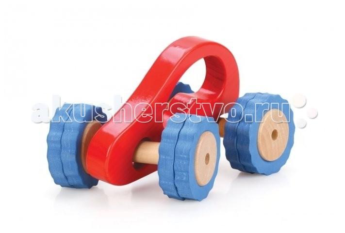 Деревянные игрушки Lucy & Leo Машина Роли-Поли LL106 машинки lucy