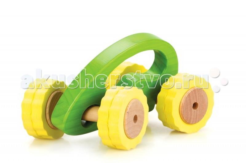 Деревянные игрушки Lucy & Leo Машина Роли-Поли LL106