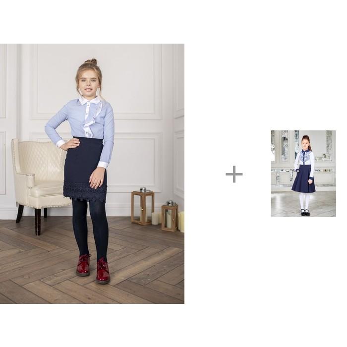 Luminoso Блузка 928184 с юбкой для девочки 928103