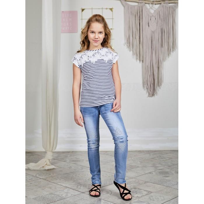 Купить Брюки и джинсы, Luminoso Джинсы для девочки Волшебный мир