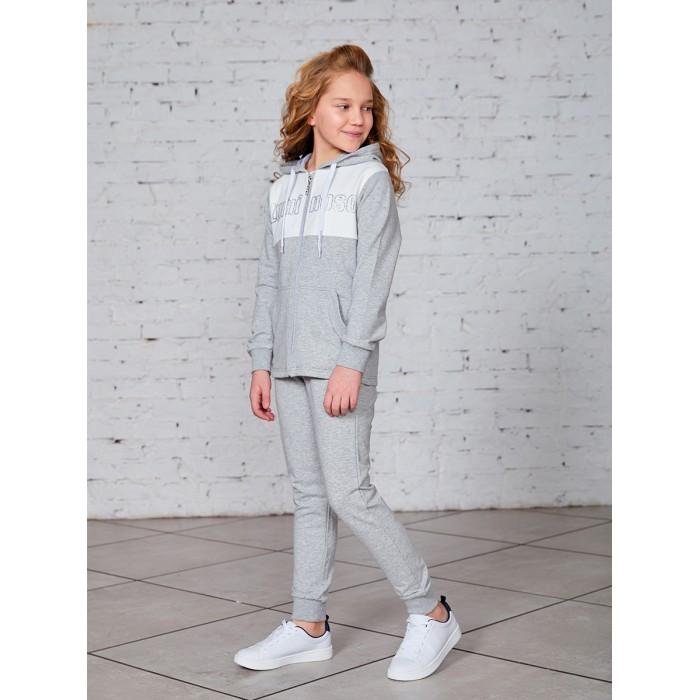 Купить Спортивные костюмы, Luminoso Спортивный костюм для девочки (толстовка и брюки) 928115