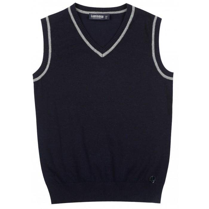 Школьная форма Luminoso Жилет для мальчика 2027047 шорты купальные для мальчика luminoso цвет сине бирюзовый 717065 размер 134