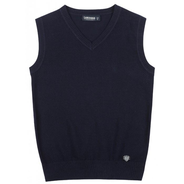 Школьная форма Luminoso Жилет для мальчика 2027049 шорты купальные для мальчика luminoso цвет сине бирюзовый 717065 размер 134