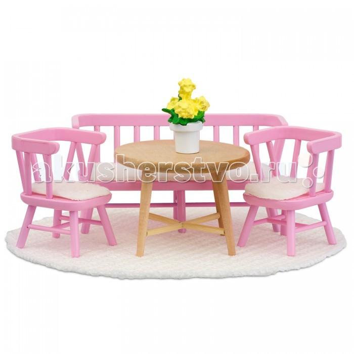 Картинка для Кукольные домики и мебель Lundby Кукольная мебель Смоланд Обеденный уголок
