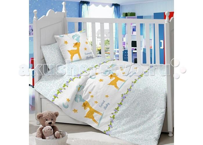 Постельные принадлежности , Комплекты в кроватку Луняшки Олененок (7 предметов) арт: 354815 -  Комплекты в кроватку