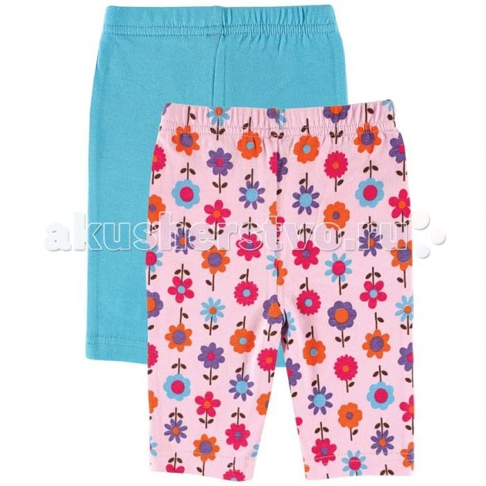 Брюки, джинсы и штанишки Luvable Friends Лосины 2 шт. 32070