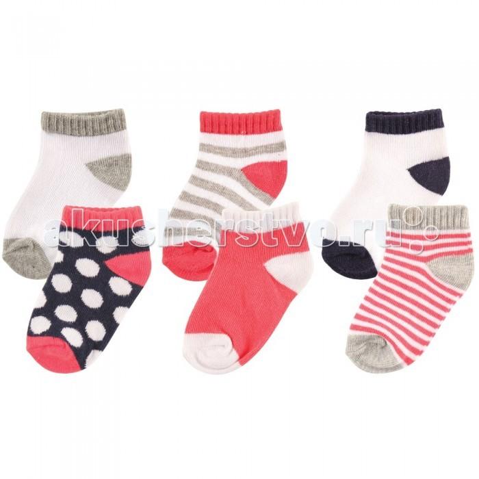 Колготки, носки, гетры Luvable Friends Носочки 6 пар носки luvable friends носки 10 пар