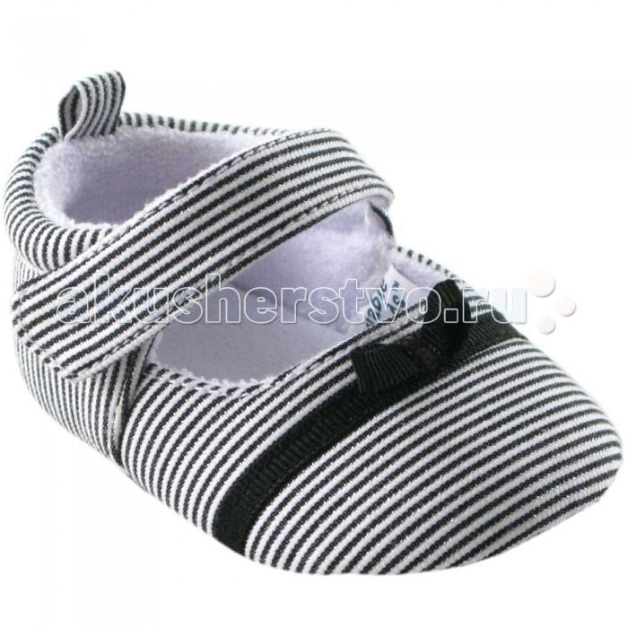 Обувь и пинетки Luvable Friends Пинетки Полоска для девочки пинетки митенки blue penguin puku