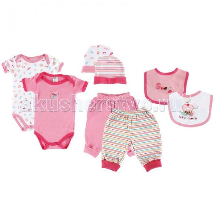 Комплекты детской одежды Luvable Friends Подарочный набор Расти со мной (8 предметов) 07072 набор подарочный 2 шт весенний гирлянда
