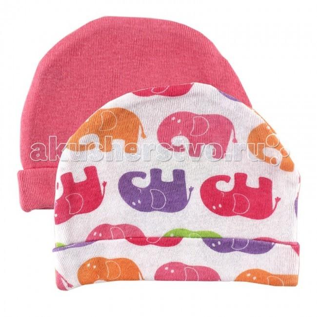 Шапочки и чепчики Luvable Friends Комплект Шапочки Сафари 2 шт. 34542 шапочки с пенопластом для новорожд нных купить
