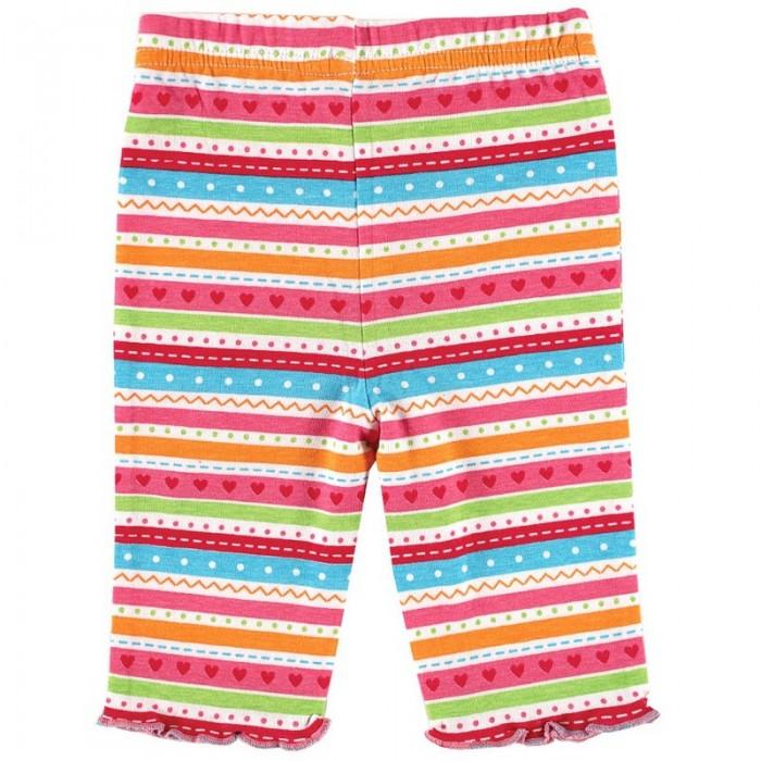Брюки, джинсы и штанишки Luvable Friends Лосины Цветной принт 1 пара
