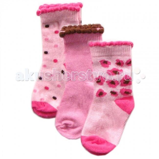 Колготки, носки, гетры Luvable Friends Носочки Fashion 3 пары 23040