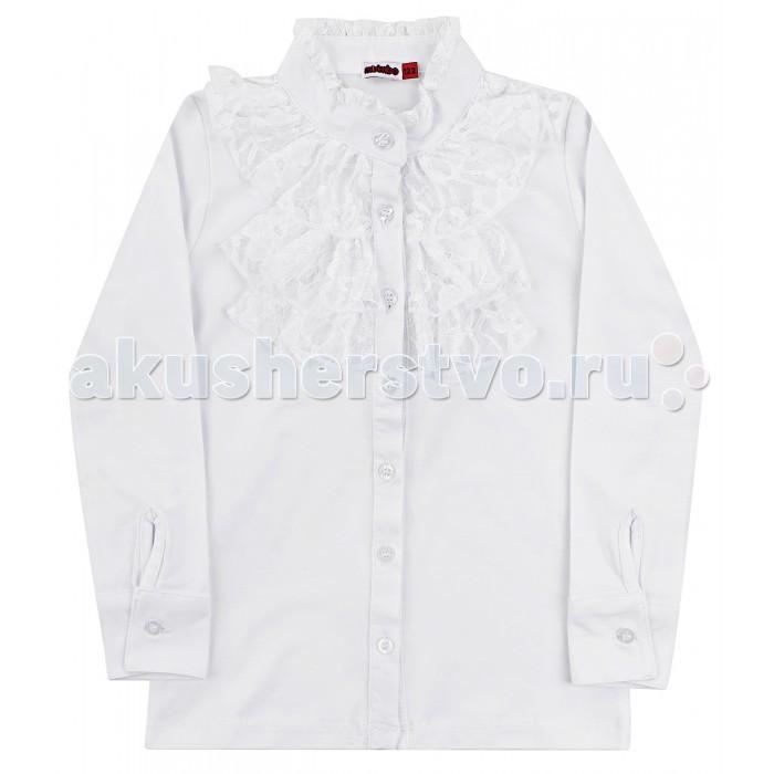 Блузки и рубашки M-Bimbo Блузка для девочки Школа ДШ-17-04 m bimbo m bimbo спортивные штаны темно синие
