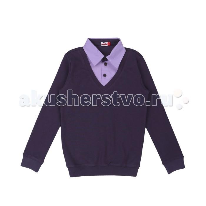 Детская одежда , Джемперы, свитера, пуловеры M-Bimbo Джемпер для мальчика Школа МШ-17-04 арт: 486456 -  Джемперы, свитера, пуловеры
