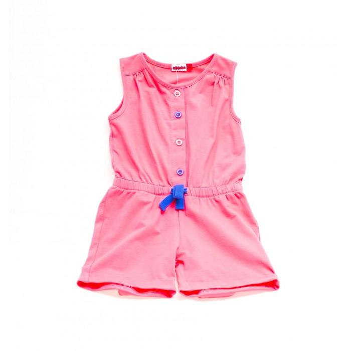 Детские платья и сарафаны M-Bimbo Комбинезон для девочки ДВ-18-13 m bimbo m bimbo спортивные штаны темно синие