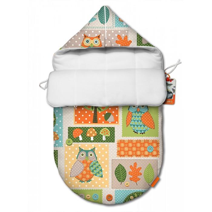 Купить Конверты на выписку, QuQuBaby Конверт для новорожденного Мудрая Сова (лето)
