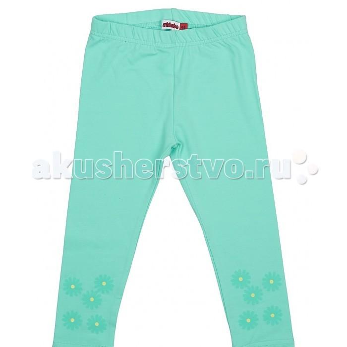 Брюки, джинсы и штанишки M-Bimbo Лосины для девочки Д-17-22 m bimbo m bimbo спортивные штаны темно синие