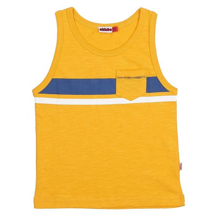 Футболки и топы M-Bimbo Майка для мальчика М-17-02 m bimbo m bimbo спортивные штаны темно синие