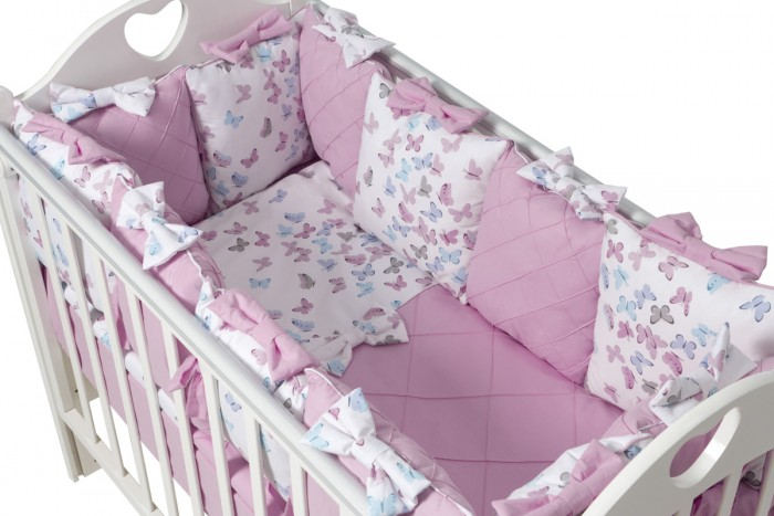Комплект в кроватку Ma Licorne La Foret (15 предметов)