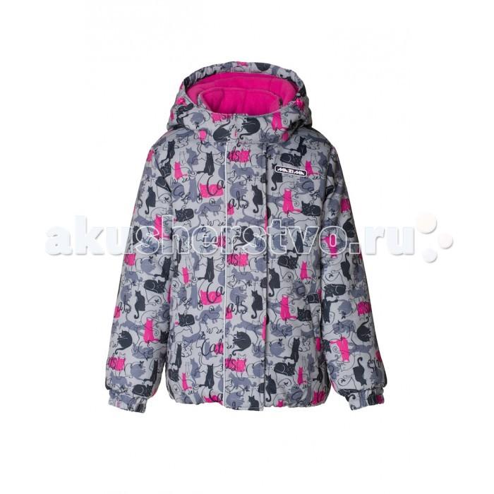 Ma-Zi-Ma Комплект зимний (куртка и брюки) Кошачья лапкаКомплект зимний (куртка и брюки) Кошачья лапкаMa-Zi-Ma Комплект зимний (куртка и брюки) Кошачья лапка изготовлен из современного высокотехнологичного материала – Taslan.   Особенности: Taslan – ткань с водоотталкивающей пропиткой: прекрасно защищает от ветра, быстро сохнет и обеспечивает отличный воздухообмен. Высокая износостойкость: дополнительное усиление брюк в местах повышенного трения вторым слоем ткани Эксклюзивные детали конструкции (снегозащитная юбка, ветрозащитные планки, эластичные манжеты) позволяют ребенку комфортно находиться на улице в любое время, не ограничивая активности.  Mazima – качественная и доступная детская одежда, разработанная при участии канадских дизайнеров и технологов.   Материалы:  Ткань верха: Taslan с водонепроницаемой пропиткой W/P (аналогично свойствам мембраны 1000 мм/ 1000 г/м &#178;/24h) Подклад: Taffeta, Polar fleece Утеплитель: 100% полиэстер 280 г/м&#178; (куртка), 200 г/м&#178; (п/комбинезон, брюки)  Особенности куртки: Съёмный капюшон на молнии с доп. утяжкой; Защита подбородка; Внутренняя и внешняя ветрозащитные планки; Эластичные манжеты на рукавах; Внутренняя снегозащитная юбка; Два кармана; Декоративный резиновый лейбл с логотипом; Капюшон застегивается на липучку на подбородке; Светоотражающие элементы (шнур); Внутренний нагрудный карман на липучке;  Особенности брюк: Внутреняя защитная эластичная гетра;  Усиление брюк в местах повышенного трения вторым слоем ткани;  Эластичные лямки с регулировкой длины; Эластичная резинка на талии;<br>