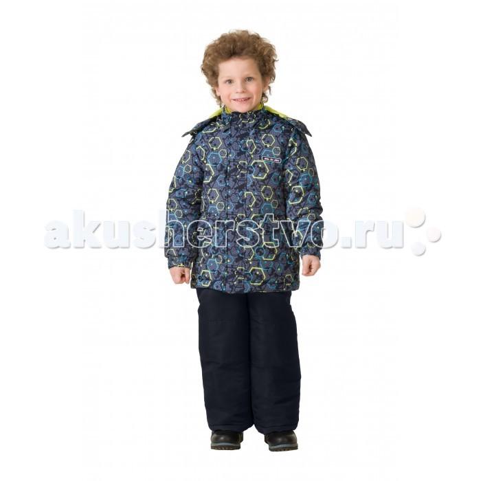 Детская одежда , Утепленные комбинезоны и комплекты Ma-Zi-Ma Комплект зимний (куртка и брюки) Кратеры Плутона арт: 407054 -  Утепленные комбинезоны и комплекты