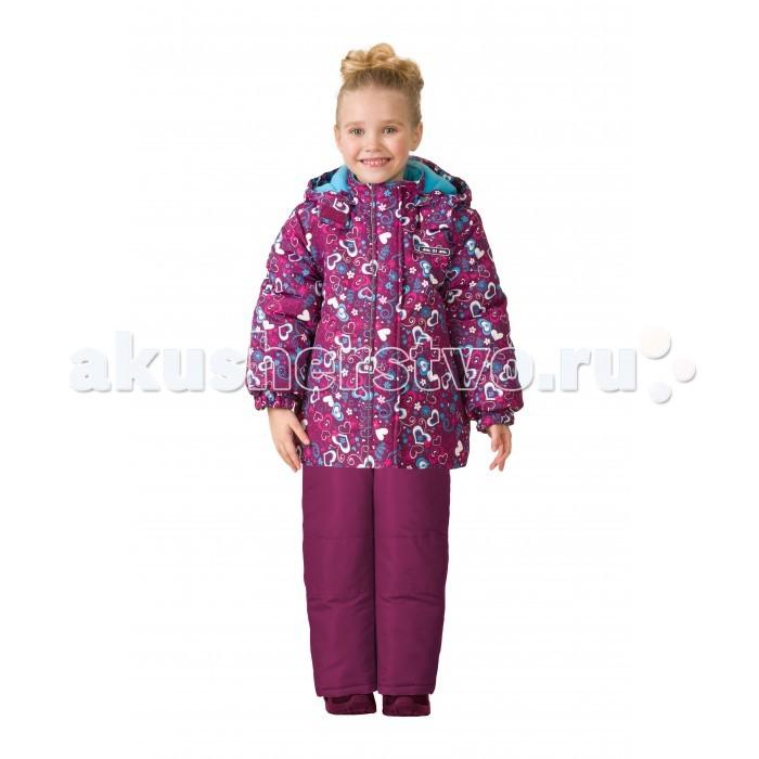Детская одежда , Утепленные комбинезоны и комплекты Ma-Zi-Ma Комплект зимний (куртка и брюки) Звезда любви арт: 407154 -  Утепленные комбинезоны и комплекты