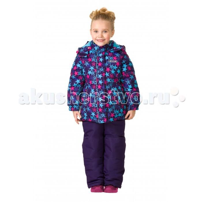 Детская одежда , Утепленные комбинезоны и комплекты Ma-Zi-Ma Комплект зимний (куртка и брюки) Звездопад арт: 407079 -  Утепленные комбинезоны и комплекты
