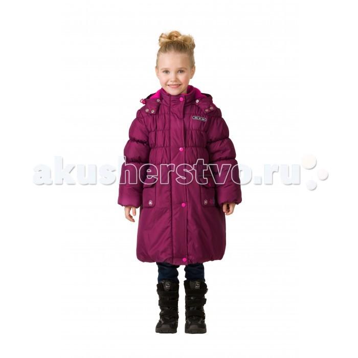 Детская одежда , Куртки, пальто, пуховики Ma-Zi-Ma Пальто зимнее Красная планета арт: 407014 -  Куртки, пальто, пуховики