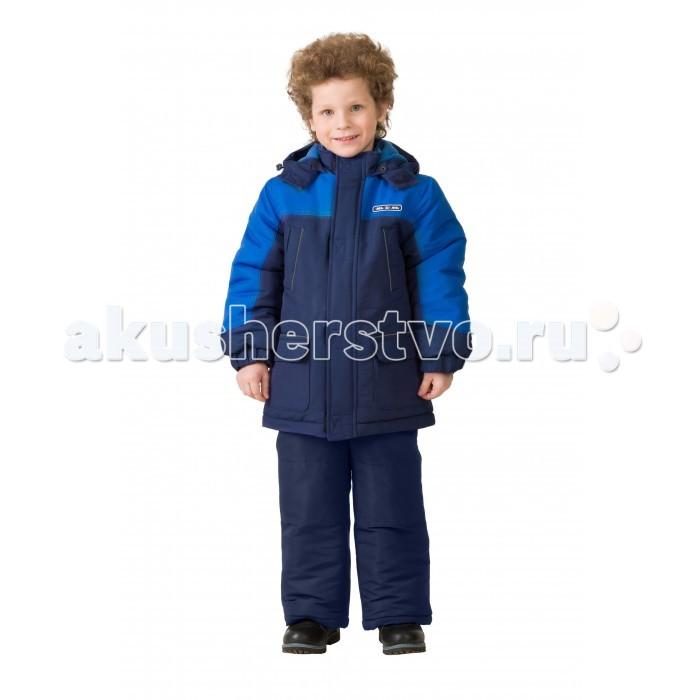 Детская одежда , Куртки, пальто, пуховики Ma-Zi-Ma Парка зимняя Синий Нептун арт: 407004 -  Куртки, пальто, пуховики
