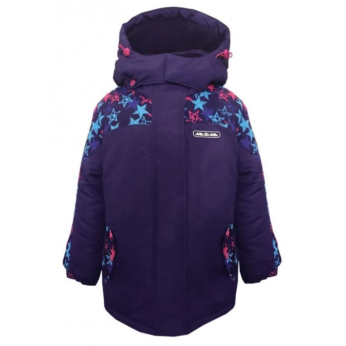 Детская одежда , Куртки, пальто, пуховики Ma-Zi-Ma Парка зимняя Звездопад арт: 406994 -  Куртки, пальто, пуховики