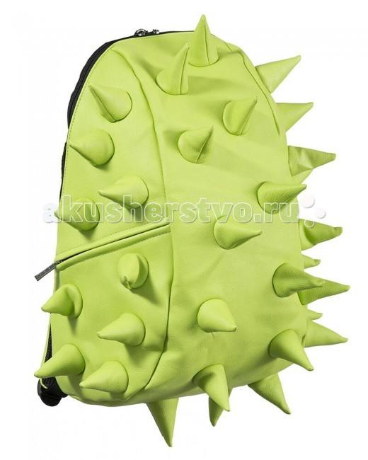 MadPax Рюкзак Rex FullРюкзак Rex FullРюкзак Rex Full MadPax  Стильный и практичный рюкзак, уместный в ритме большого города.   Основное отделение закрывается на молнию. Внутри изделия есть отделение для ноутбука с максимальным размером диагонали 17 дюймов. По бокам - два дополнительных кармана на молнии.   Модель помимо лямки для переноски в руке, мягких и широких регулируемых бретелей снабжена фиксацией на груди.   Полностью вентилируемая и ортопедическая спинка создаёт дополнительный комфорт Вашей спине.  Материал - 100% полиуретан  Размер - 46х36х20 см  Появление этой аксессуарной марки взорвало мир моды! Рюкзаки от MadPax поистине созданы для ярких неординарных личностей. Если вы хотите, чтобы вы сами или ваш ребенок выделялись из толпы, если для вас важно подчеркнуть активную жизненную позицию, тогда этот бренд – для вас! Рюкзаки MadPax подходят как детям, так и взрослым. Коллекции MadPax – это рюкзаки с шипами, пузырями или фантазийными дорожками, напоминающими о тетрисе. Для производства этих уникальных вещей используются самые передовые полимерные материалы. Можете быть спокойны – продукция проходит тщательный контроль качества, а шипы и пузыри мягкие на ощупь.<br>