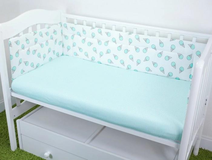 Купить Бортики в кроватку, Бортик в кроватку Magic City Десерт 45x60 см