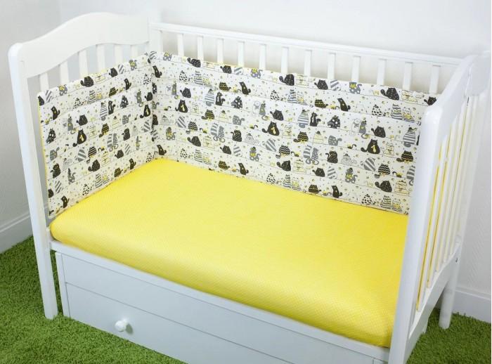 Бортики в кроватку Magic City Дневные коты 45x60 см бортики в кроватку magic city джангл 45x60 см