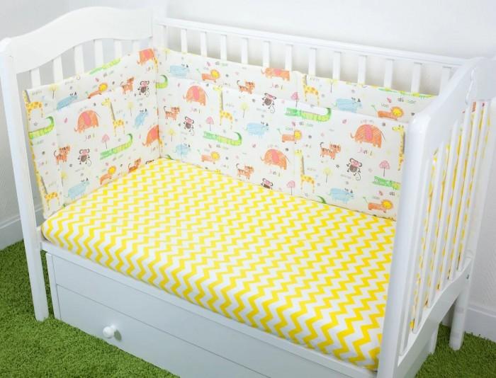 Бортики в кроватку Magic City Джангл 45x60 см бортики в кроватку magic city джангл 45x60 см