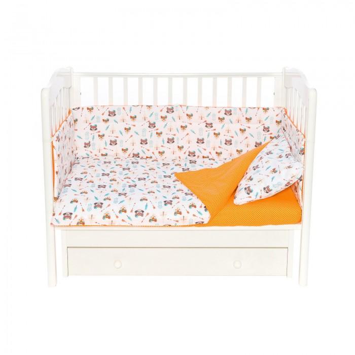 Купить Бортики в кроватку, Бортик в кроватку Magic City Индейцы 45x60 см