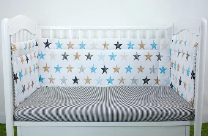 Бортики в кроватку Magic City Созвездие 35x60 см БК-ББ-014/35