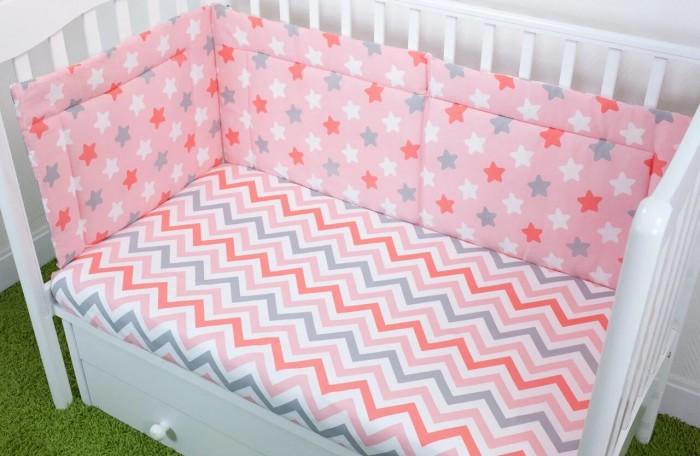 Бортики в кроватку Magic City Созвездие 40x60 см бортики в кроватку magic city джангл 45x60 см