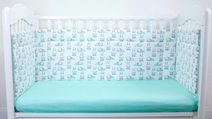 Бортики в кроватку Magic City Ушастый лежебока 35x60 см