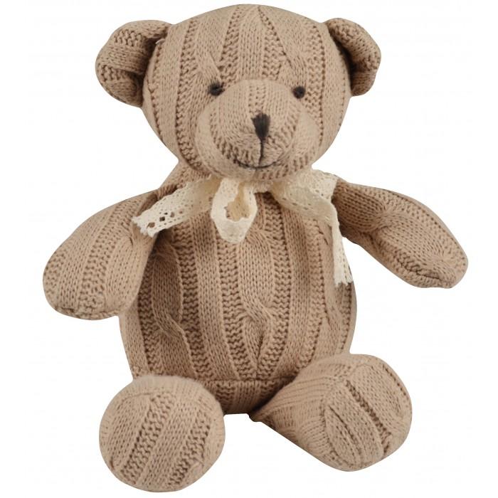 Мягкая игрушка Magni Вязаный медвежонок Тедди