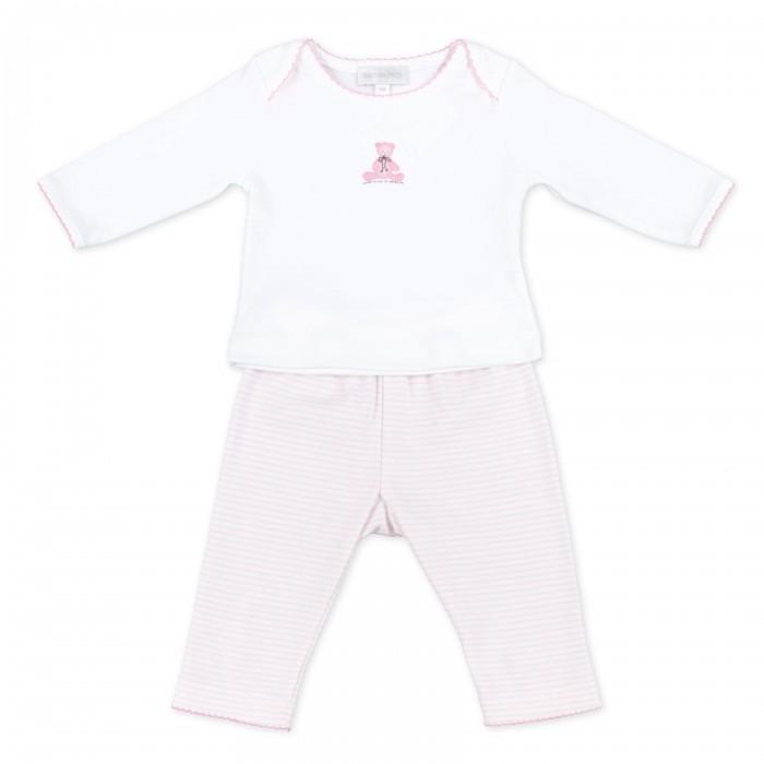 Magnolia baby Комплект для девочки (топ, брючки) Baby's Teddy