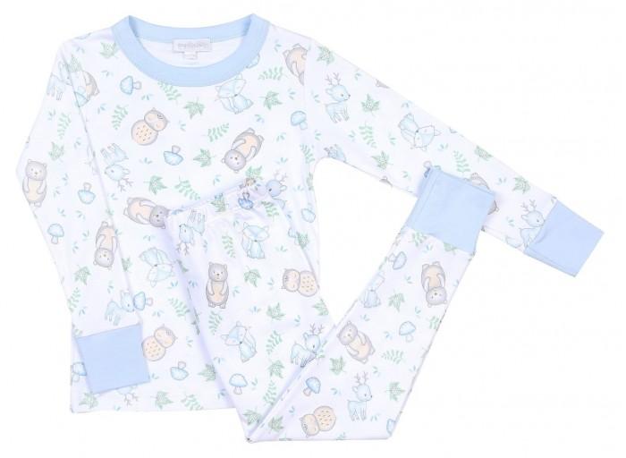 Домашняя одежда Magnolia baby Пижама Woodland Creatures
